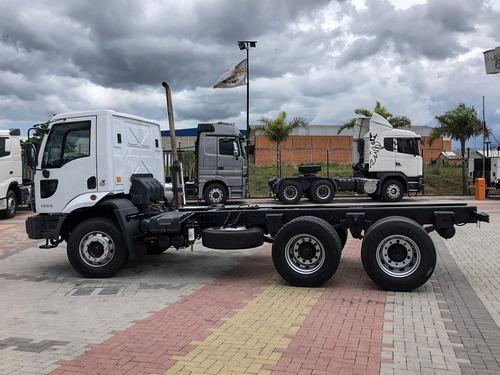 Ford Cargo 1723 6x2 15 Caminhão Com Tomada Para Acoplamento