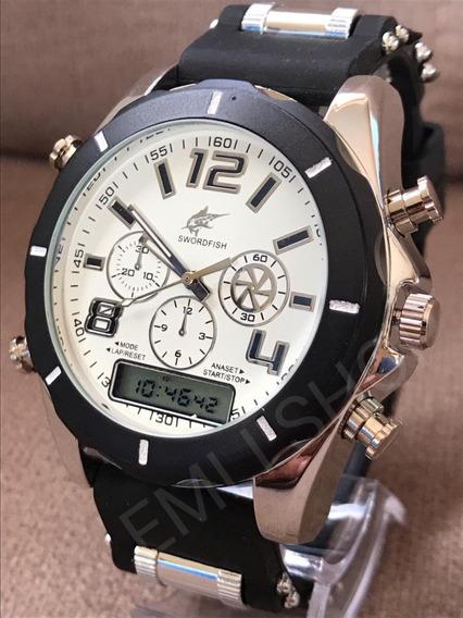 Kit 10x Relógio Masculino Potenzia Para Revenda+cx Aproveite