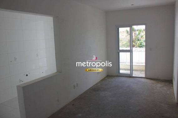 Apartamento Com 2 Dormitórios À Venda, 68 M² Por R$ 382.000,00 - Barcelona - São Caetano Do Sul/sp - Ap2446