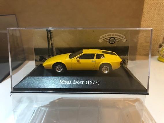 Miura Sport 1977 1/43 Ixo + Fascículo