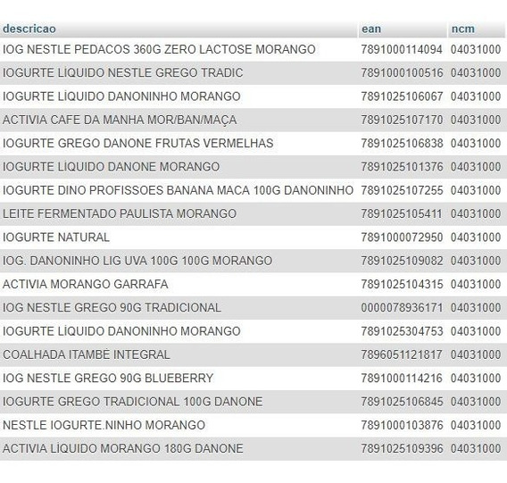 Banco De Dados 506.000 Produtos + Ean + Ncm + 63.500 Imagens