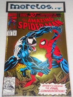 Amazing Spider-man #375 -portada Gold Holofoil- En Ingles