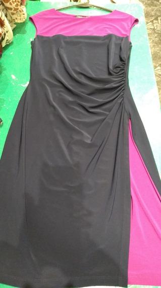 Vestido Importado Ralph Lauren Combinado T Medium (10)