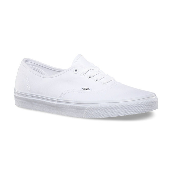 Zapatillas Vans Authentic Canvas Toda Blanca 100% Original