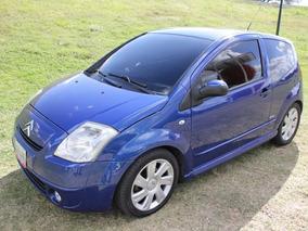Citroën C2 Vtr Cambios En El Volante Motor 1.6 Psa Peugeot