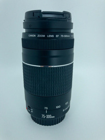 Lente Canon 75-300mm F/4-5.6 Iii3 Ef Autof