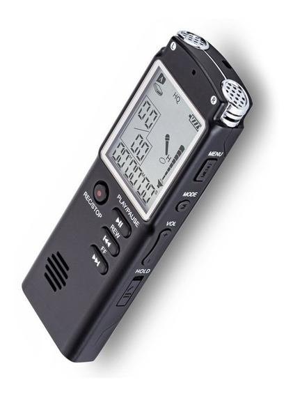 Gravador De Voz Profissional Digital 8 Gb Importado