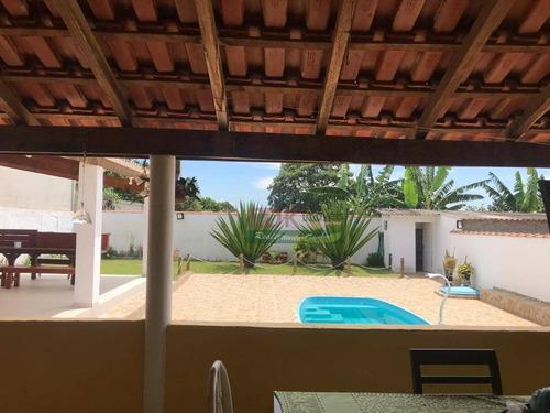 Imagem 1 de 18 de Chácara Com 4 Dormitórios À Venda, 2500 M² Por R$ 760.000,00 - Goiabal - Pindamonhangaba/sp - Ch0448