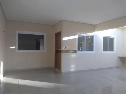 Casa Com 3 Dormitórios À Venda, 116 M² Por R$ 380.000 - Jardim Santa Rosa - Itu/sp - Ca1793
