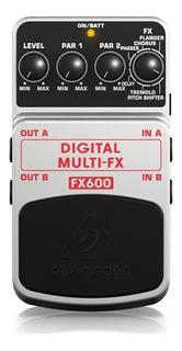 Pedal Guitarra Digital Multi-fx Behringer Fx600 + Garantía
