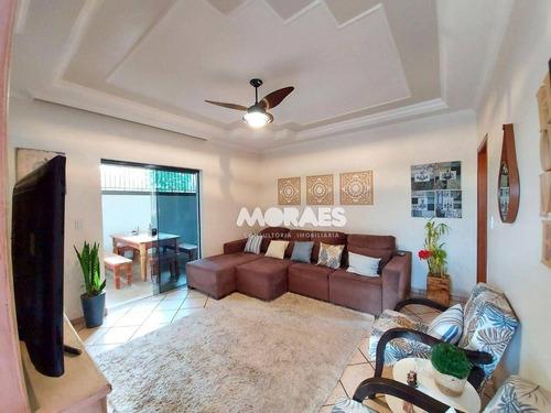Casa Com 3 Dormitórios À Venda, 180 M² Por R$ 550.000,00 - Jardim Estoril - Bauru/sp - Ca2067