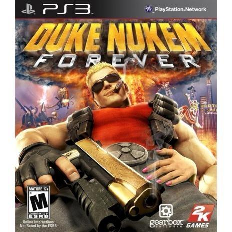 Jogo Ps3 Duke Nukem Forever (mídia Física)