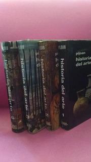 Historia Del Arte, Pijoan, Editorial Salvat, 4 Tomos