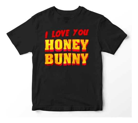 Nostalgia Shirts- Pulp Fiction: I Love You Honey Bunny.