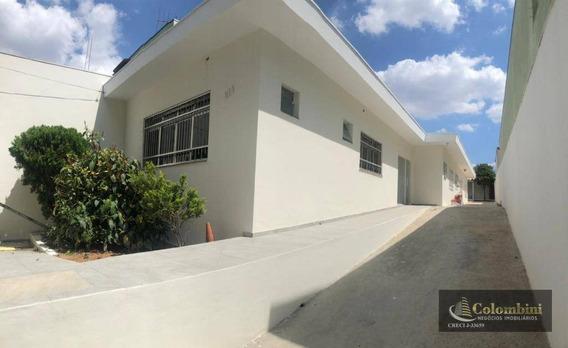Casa Para Alugar, 227 M² - Santa Paula - São Caetano Do Sul/sp - Ca0159