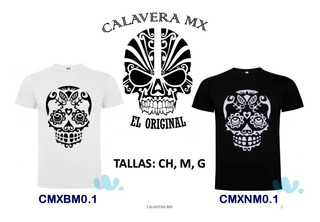 Playeras Calavera Mx El Original