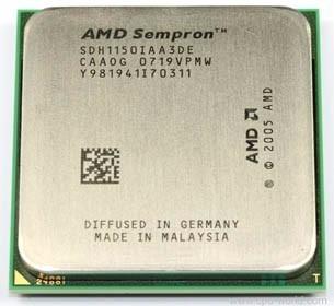 Processador Am2 Amd Sempron 64 Le-1150 - Sdh1150iaa3de