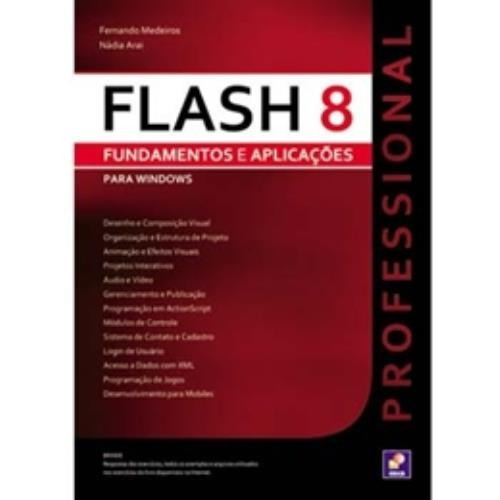 Flash 8 Professional Fundamentos E Aplicacoespara Win