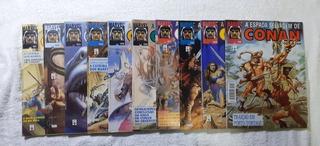 Lote 48 Hqs A Espada Selvagem De Conan 101 A 150 1ª Ed Abril