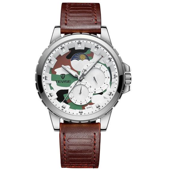 Tevise T815a Inoxidável Aço Relógio Pulso Relógio Topo Marca