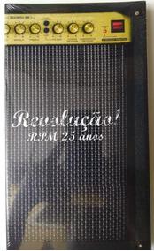 Revolução! - Rpm 25 Anos - Box Com Dvd + 4 Cds