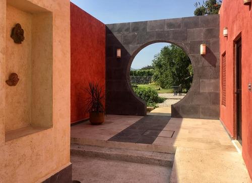 Imagen 1 de 14 de Casa En Venta En Tepoztlan Valle De Atongo Mor. Mel