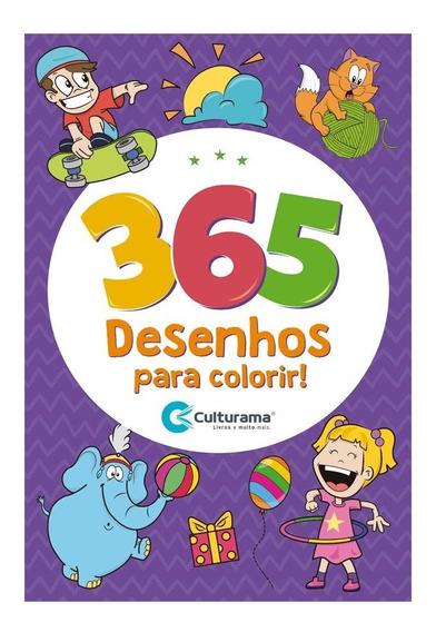Livro Para Colorir Infantil 365 Desenhos - Culturama
