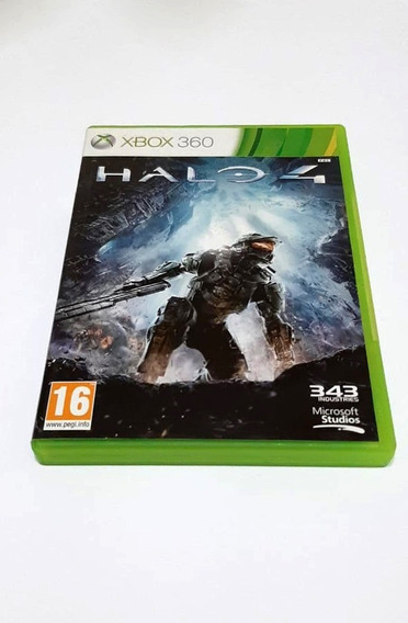 Halo 4 Original - Xbox 360 - Excente Estado.
