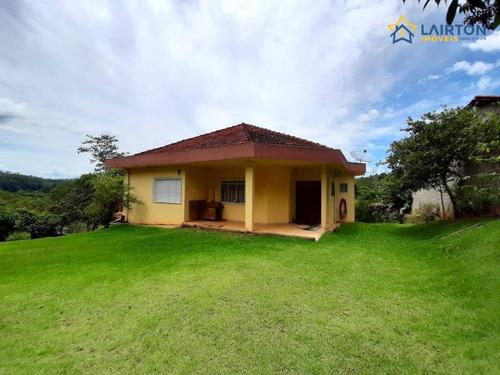 Chácara Com 2 Dormitórios À Venda, 2436 M² Por R$ 430.000,00 - Água Preta - Jarinu/sp - Ch1431