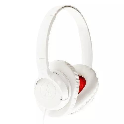 Fone De Ouvido Com Microfone Audiotechnica Overear Branco