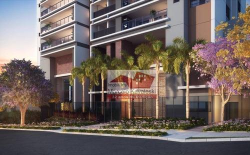 Imagem 1 de 15 de Apartamento Com 4 Dormitórios À Venda, 160 M² Por R$ 1.400.000,00 - Vila Dom Pedro I - São Paulo/sp - Ap13343