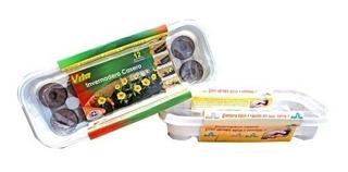 Kit Miniinvernadero 12 Peat Pellets + 5 Tipos De Semillas
