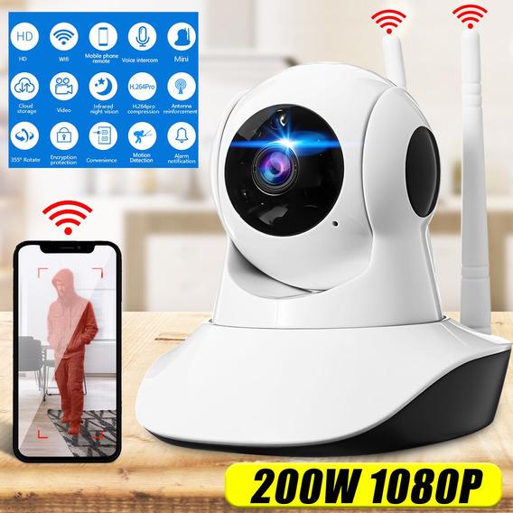 1080 P Hd Sem Fio Wi Fi Ip Câmera De Segurança Em Casa Baby