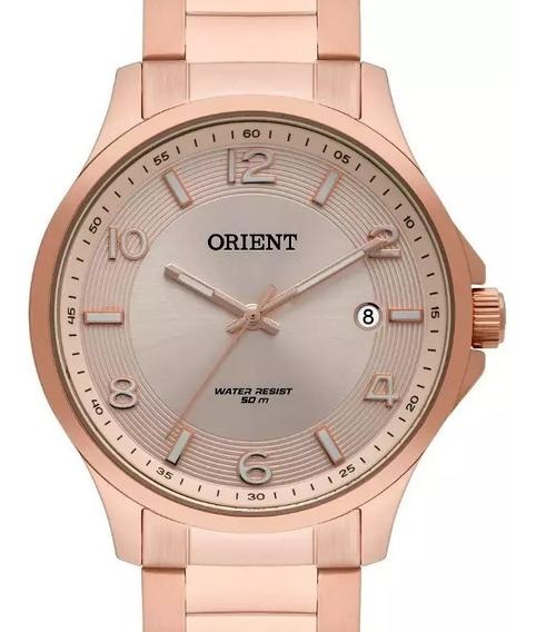 Relógio Orient Feminino Rose Gold - Frss1045 R2rx