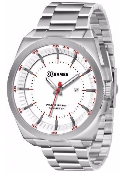Relógio X-games Masculino Analogico Xmss1031 B1sx Aço Oferta