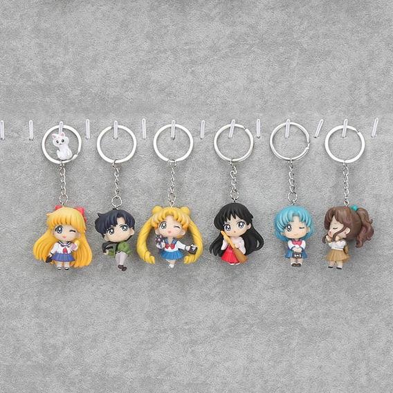 Llaveros Por Pieza Kawaii Lindos Sailor Moon