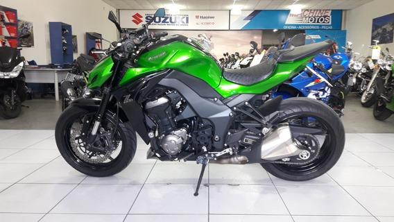 Kawasaki Z 1000 2015 Verde Impecavel