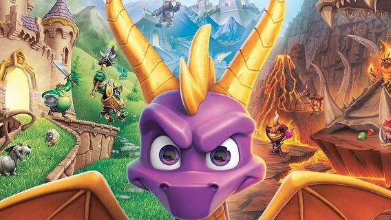 Spyro Reignited Trilogy ( Mídia Física ) Pc - Dvd