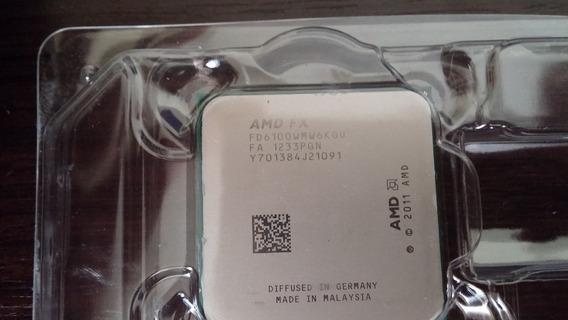 Processador Fx 6100 Zambezi X6 3.3 Ghz Am3+ Oem Sem Cooler