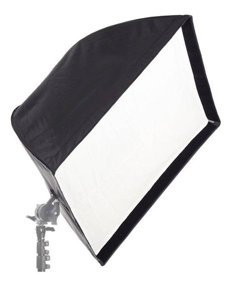 Softbox P/ Iluminação Universal 90x90 Cm Tocha Flash E27