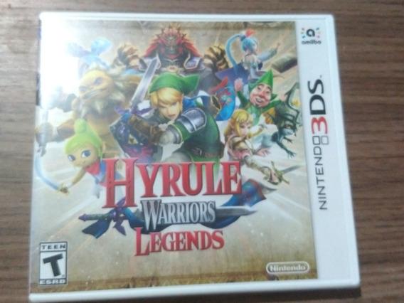 Hyrule Warriors Legends Nintendo 3ds Americano Mídia Física