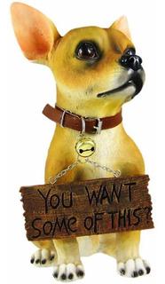 Estatua Figura De Decoración Perro Chihuahua