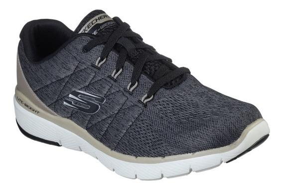 Zapatillas Skechers Flex Advantage 3.0 Hombre Running Asfl70
