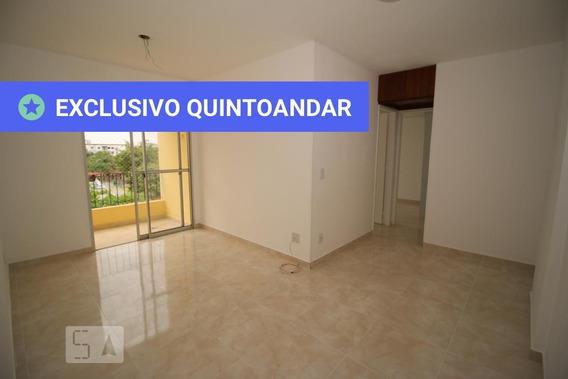 Apartamento No 2º Andar Com 2 Dormitórios E 1 Garagem - Id: 892950640 - 250640