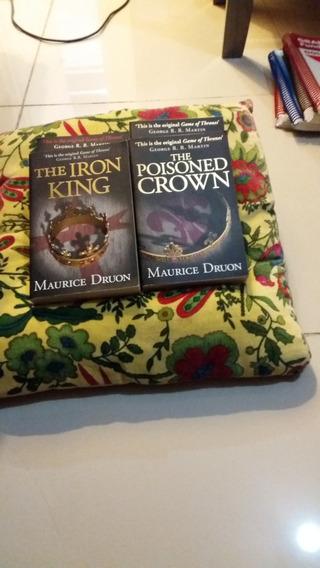 02 Livros The Iron King E Poisoned Crown De Maurice Druon