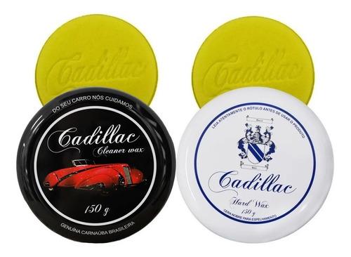 Cera Limpadora E Protetora Cleaner E Hard Wax 150g Cadillac
