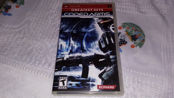 Coded Arms Completo 100% Original Psp Sony