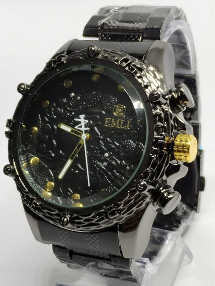 Kit 10x Relógio Potenzia Lote Atacado Revenda Robusto+ Caixa