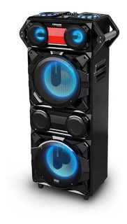 Parlante Activo Crown Mustang Djs-1220bt 2800w 2 Woofer