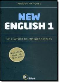 New English 1 E 2 - Amadeu Marques - Disal - Acompanha Cd